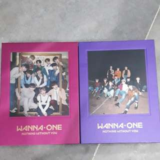 """WANNA ONE """"NOTHING WITHOUT YOU"""" ALBUM"""