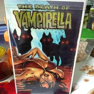 The Death of Vampirella