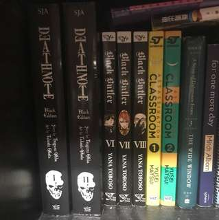 assorted manga