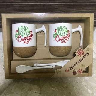 Mug set of 2 - Merry Christmas