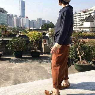 高品質純棉小蘿蔔休閒褲
