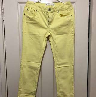 Portmans Yellow Jeans