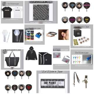Exo Elyxion in Japan goods