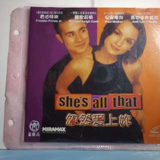VCD - SHE'S ALL THAT (1999)