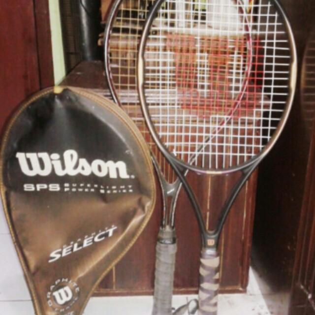 2 raket tenis wilson