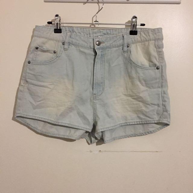 (30) Some Days Lovin denim shorts