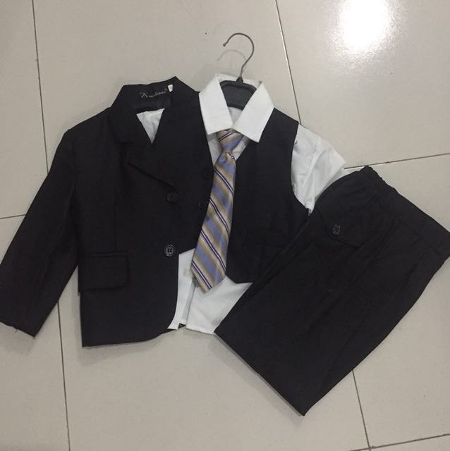 5 piece formal/corporate outfit for 1-2yr old