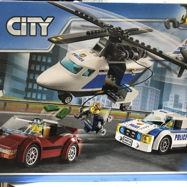 60138 LEGO City Police High Speed Chase, Toys & Games, Bricks ...