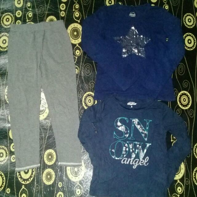 6 years 2pc Long Sleeve T-shirt + pants