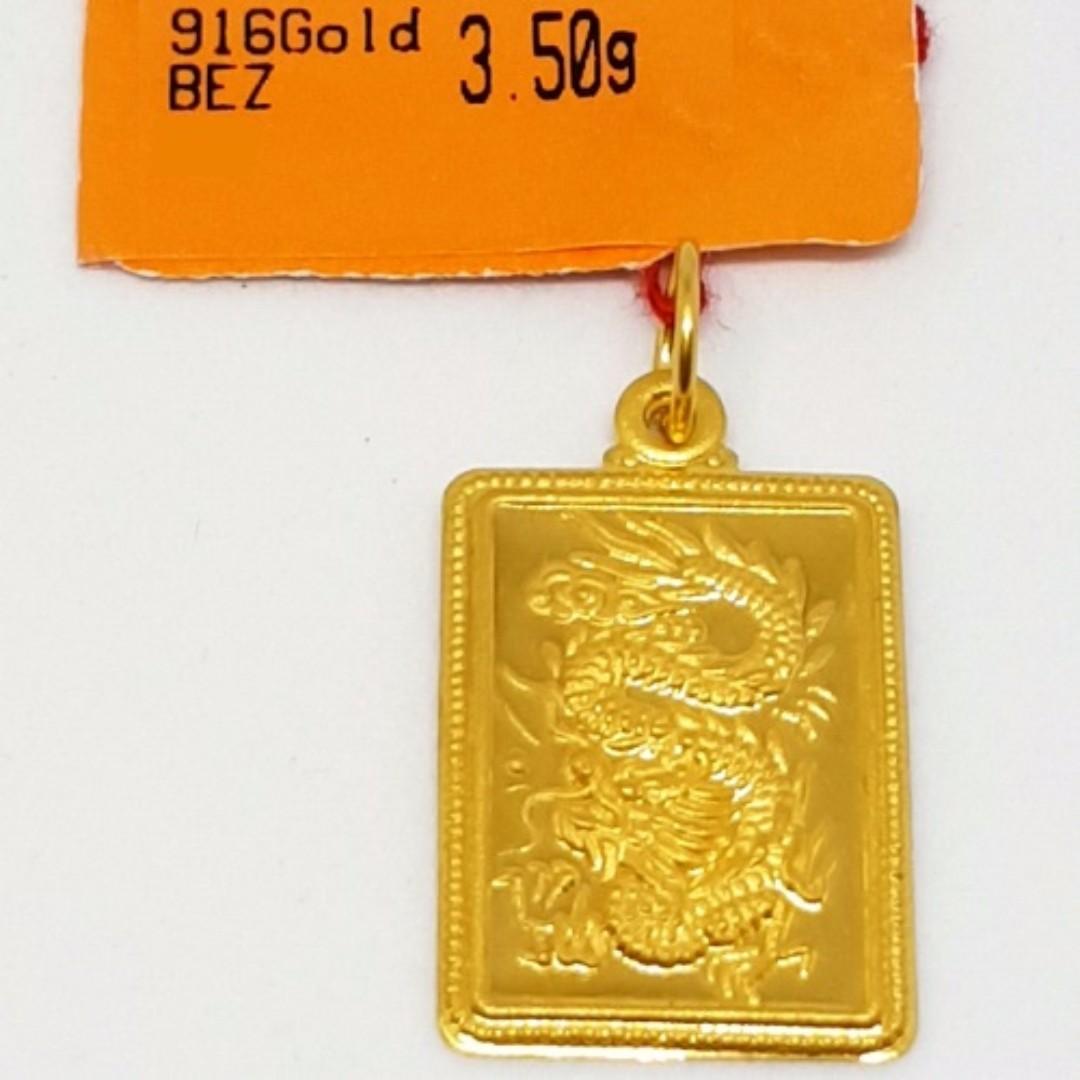 916 gold dragon pendant luxury accessories on carousell photo photo photo photo photo aloadofball Choice Image