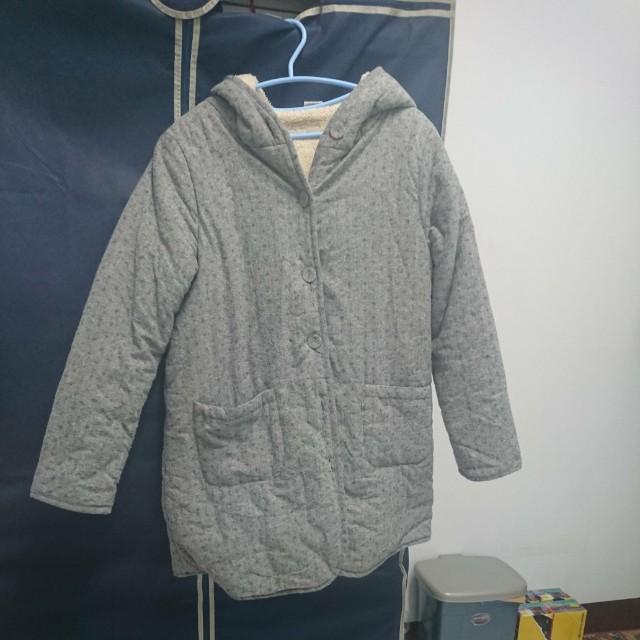 韓版刷毛大衣