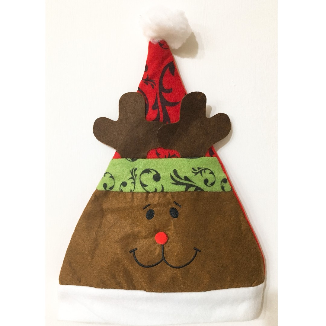 聖誕節系列-麋鹿聖誕帽