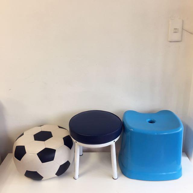 兒童椅/足球椅三張一起便宜出清~