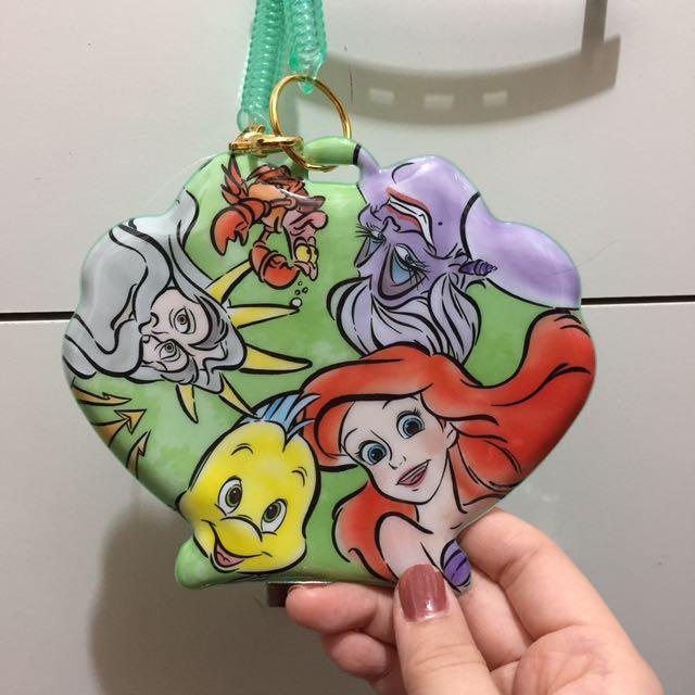 迪士尼美人魚票夾