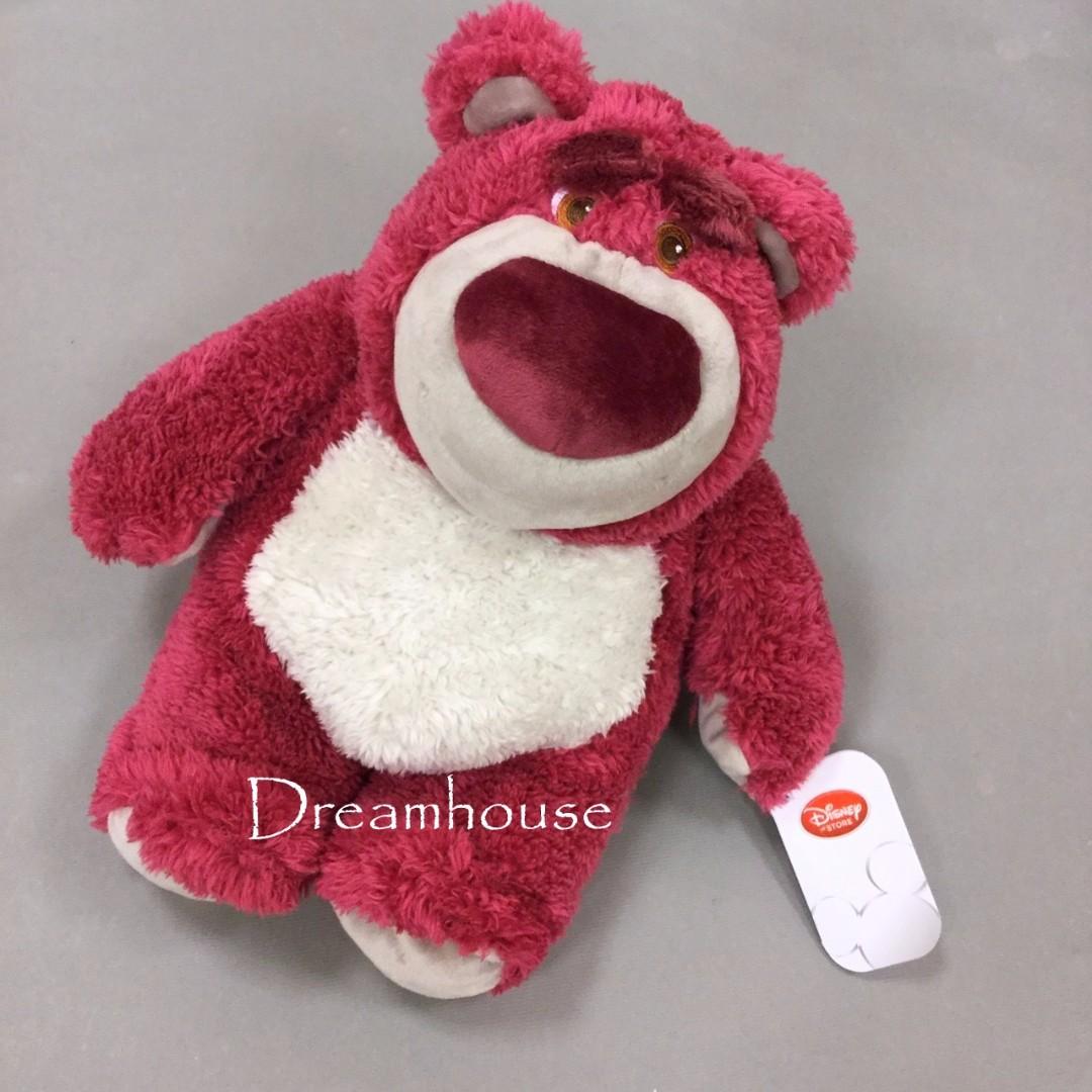 東京迪士尼 玩具總動員 熊抱哥 草莓香 玩偶 娃娃