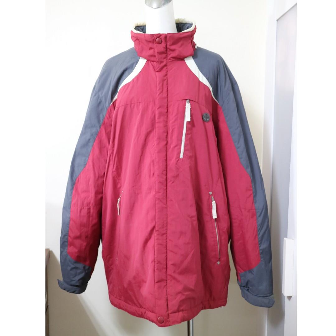 香港購回 寒冬必備 Bossini 超保暖防風 內鋪棉厚外套 機能外套