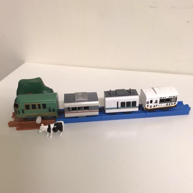 全新 | Plarail小火車 遊樂特急篇 五顆合賣