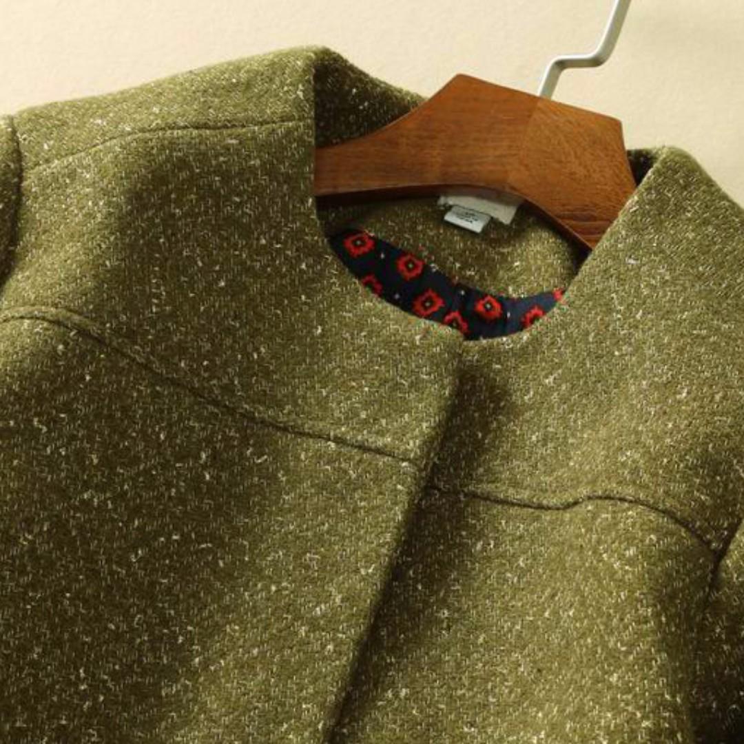 全新 降!!!!!綠色金蔥短氣質短外套 美國TARGET.com品牌