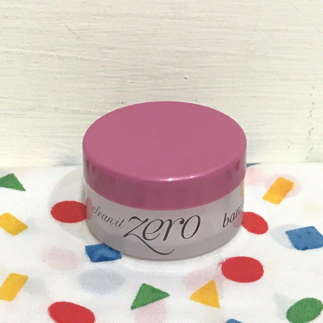 【全新】韓國 banila co. Zero 皇牌保濕卸妝凝霜7g