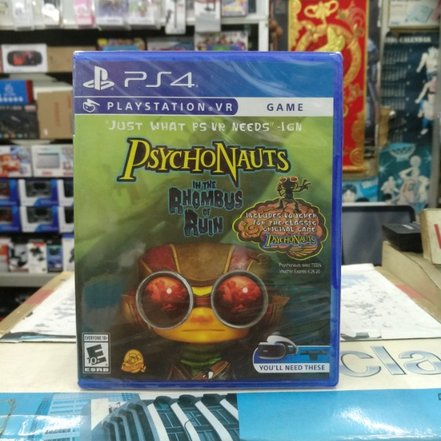 🆕 PlayStation VR Psychonauts In The Rhombus of Ruin