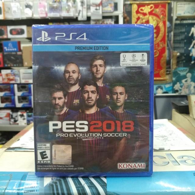 🆕 PS4 Pro Evolution Soccer 2018