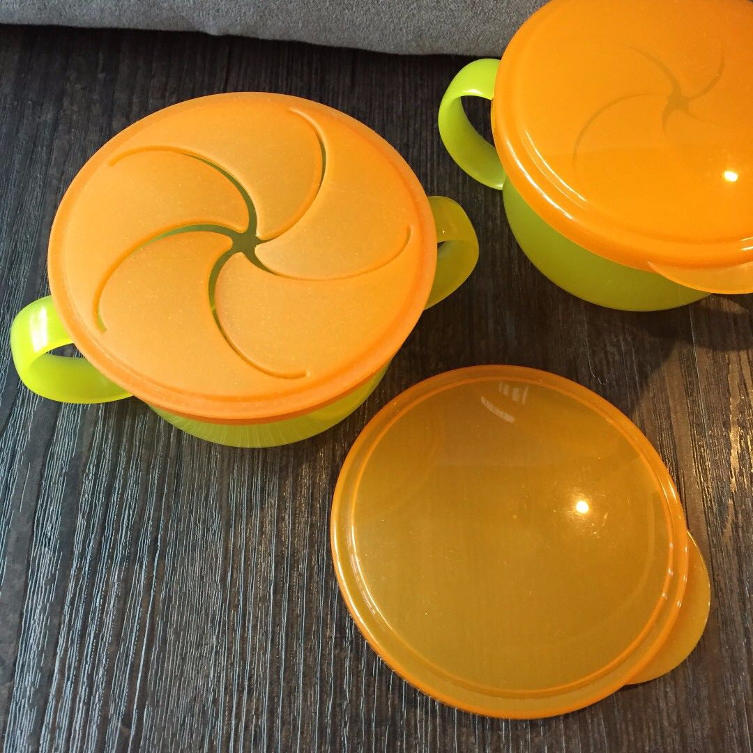 【二手出清】日本 Richell 利其爾 小餅乾保存杯 零食防漏防灑保存杯