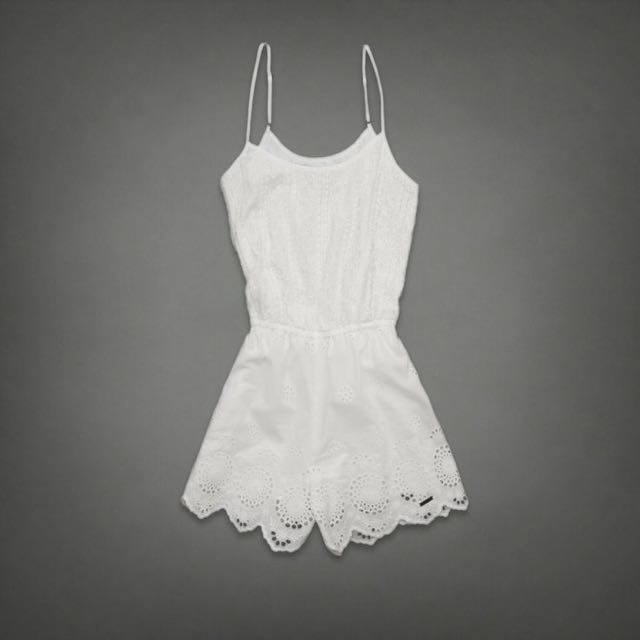 51f1df5d5884 Abercrombie and Fitch Lace Romper