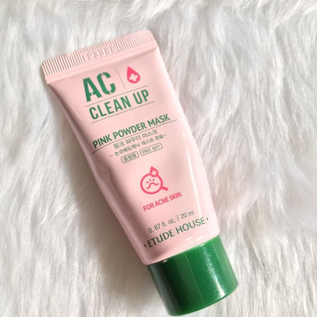 AC CLEAN UP PINK POWDER MASK