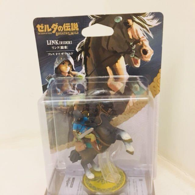 Amiibo Zelda BOTW (Link Rider)