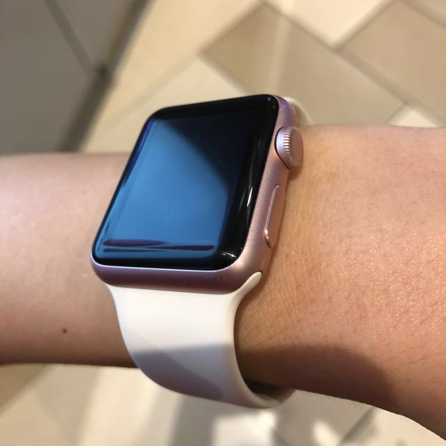 Apple Watch Series 1 Rose Gold 38mm Electronics Others On Carousell