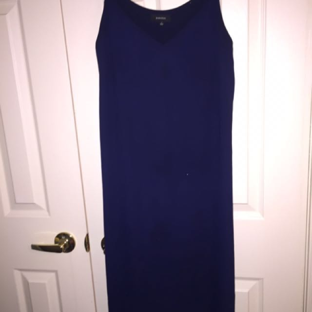 Aritzia - babaton navy dress sz S