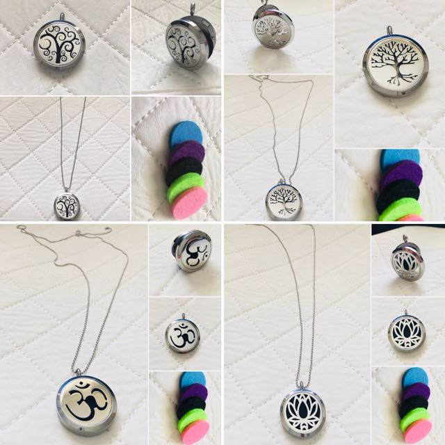 Aromatherapy Pendant Diffuser necklace, free postage