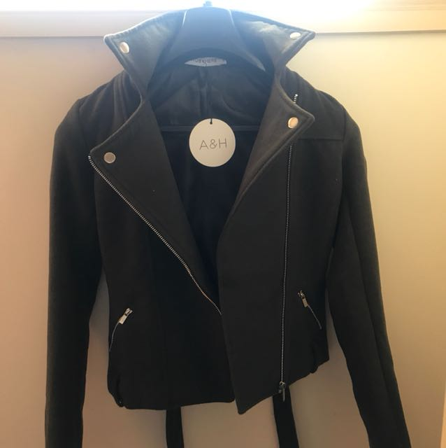 ATMOS AND HERE BIKER JACKET BNWT