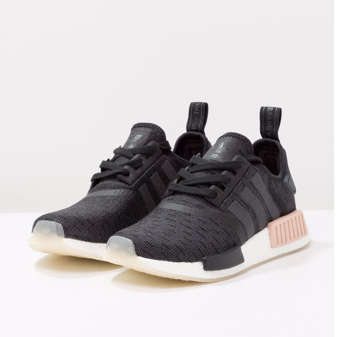 418c6ac6b Authentic Adidas Originals NMD R1 Women s Core Black   Carbon   Ftwr ...
