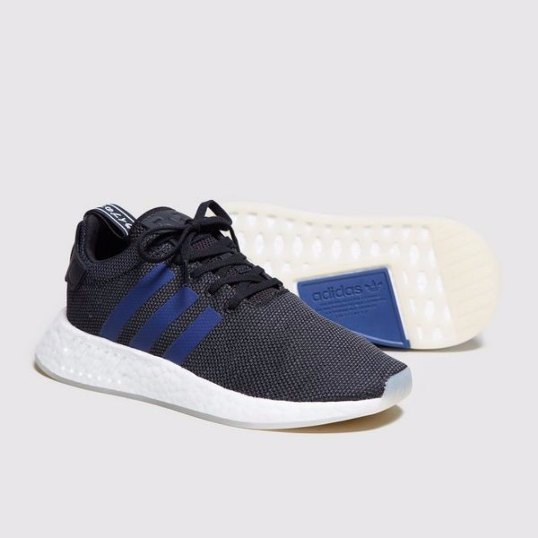 huge discount 14143 34b0e Authentic Adidas Originals NMD R2 Women's Core Black/ Noble ...