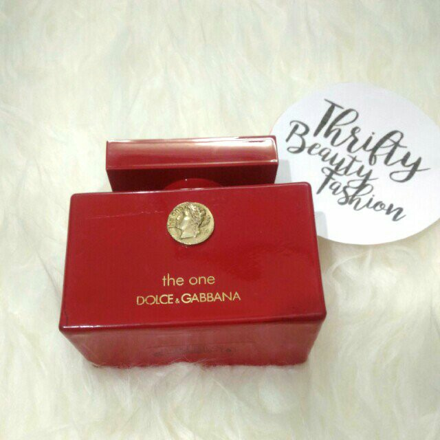 *authentic* DOLCE & GABBANA The One Collector's Edition 75ml Edp