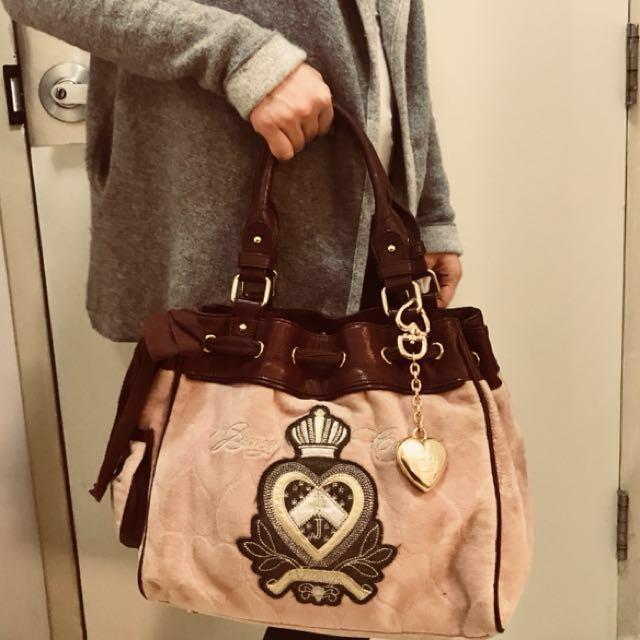 Authentic Juicy Couture shoulder bag