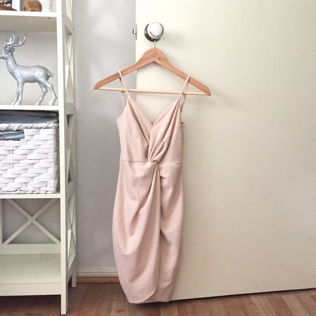 Ava and Ever nude pink dress
