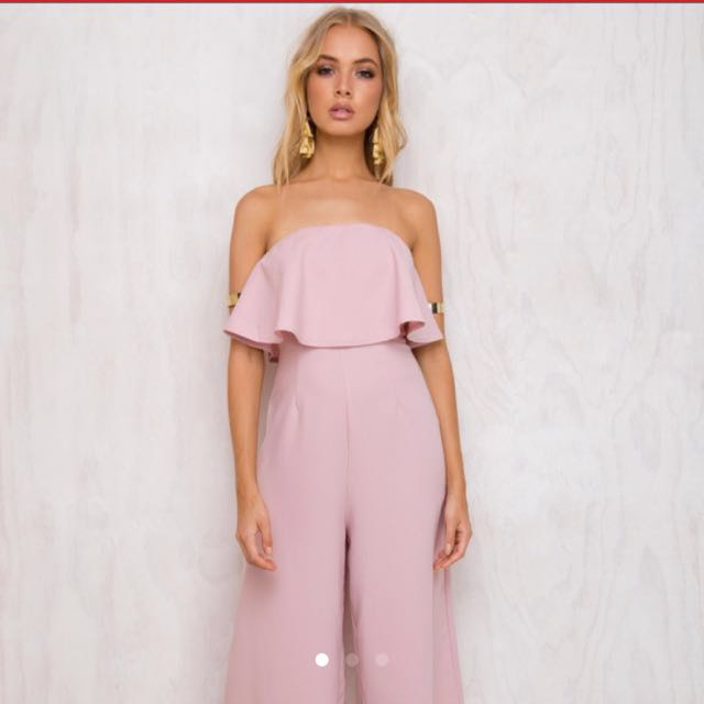 5d06235cdce Baby pink jumpsuit