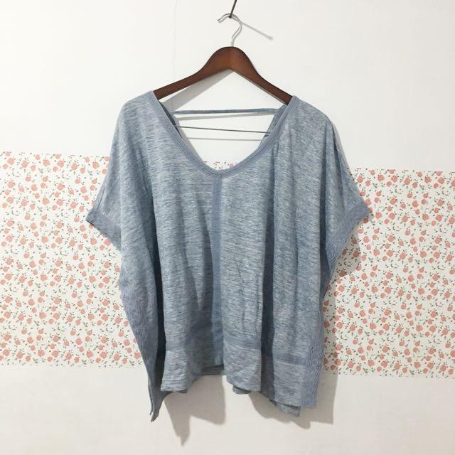 Baju batwing blue