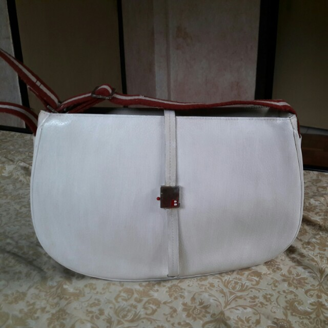 BALLY Made in Italy Genuine Leather Bag
