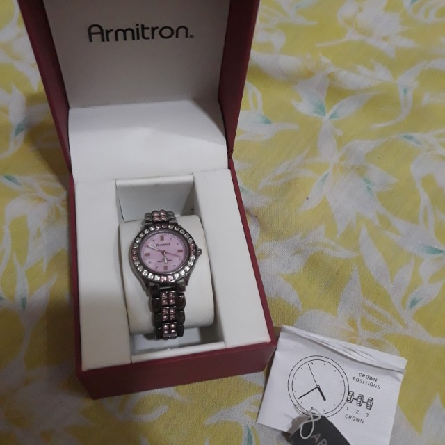 Barely used Armitron watch