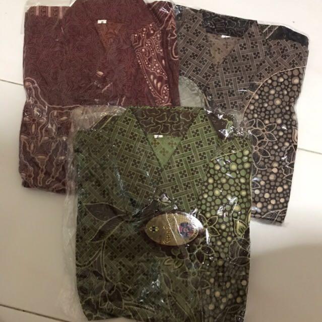 Batik shirt for Men size L and M