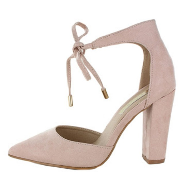 Billini baby pink heels, Women's Fashion, Shoes on Carousell