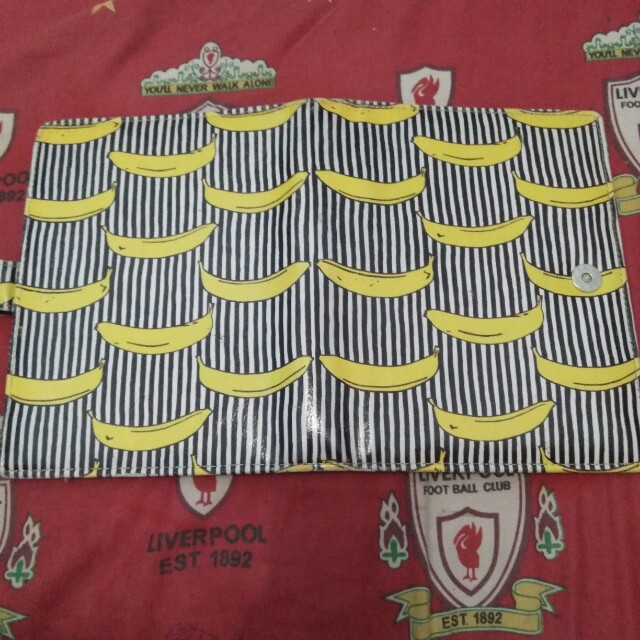 BINDER BANANA STRIPE