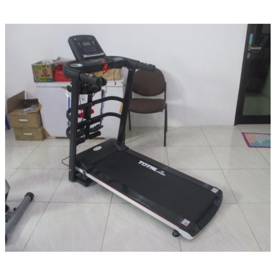 Total Fitness Treadmill Manual 6 Fungsi Tl 004 Alat Olahraga 5008 Bisa Cod Elektrik 3 607 Murah Olah Raga