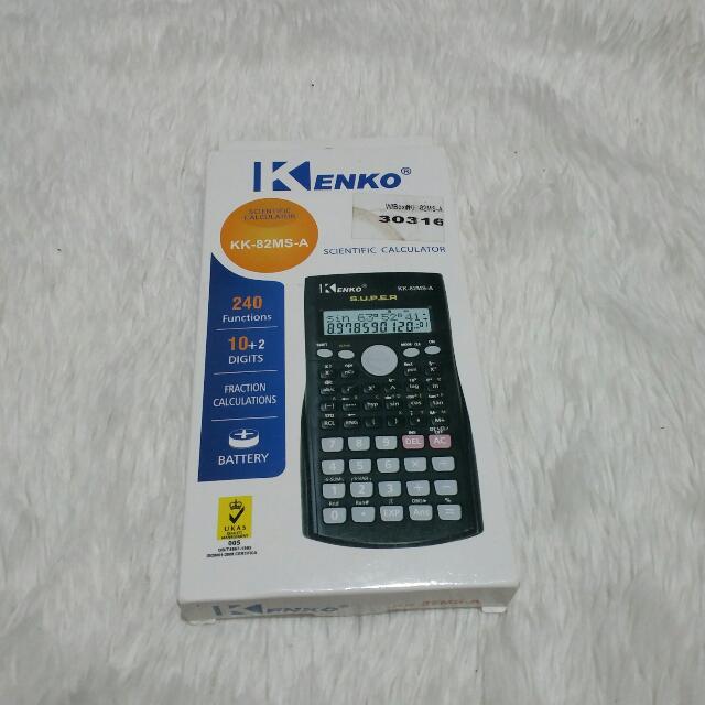 Black Kenko Scientific Calculator