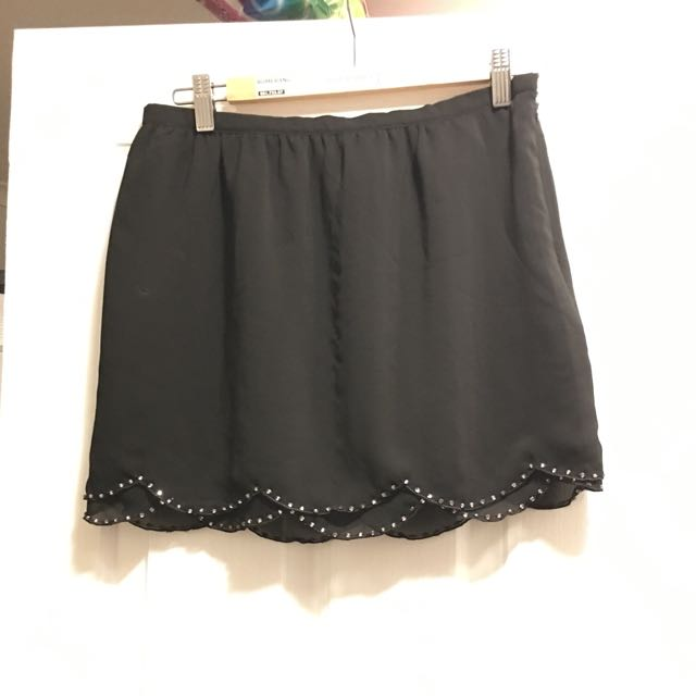 Black Supre Skirt - Medium