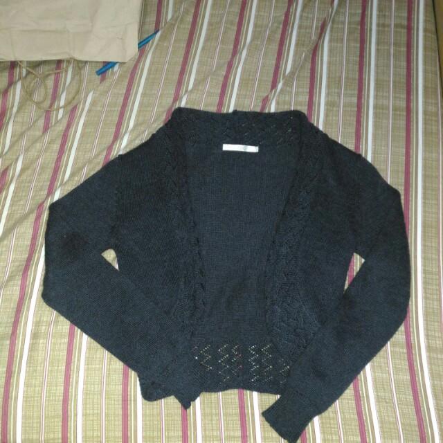 Black sweater or blazer