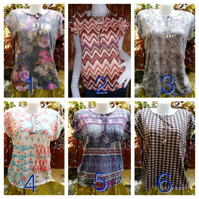 Blouse beads